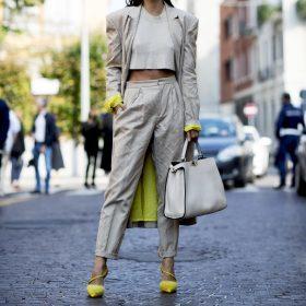 moda: cores naturais Primavera-Verão 2018