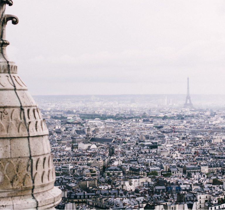 Uma visita a Paris no inverno