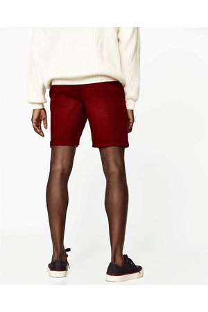 Homem Bermudas - Zara BERMUDAS DE ALGODÃO - Disponível em mais cores