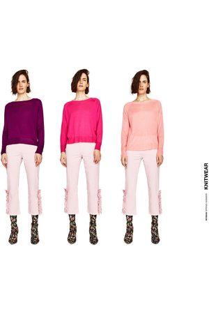 Senhora Camisolas sem capuz - Zara CAMISOLA C/ ABERTURAS LATERAIS - Disponível em mais cores