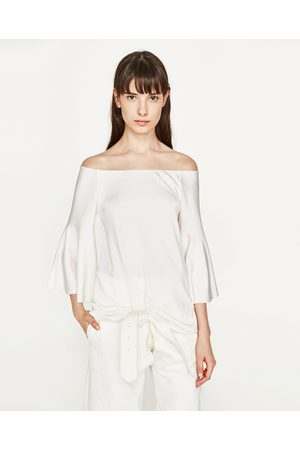 Senhora Camisolas sem capuz - Zara CAMISOLA BANDEAU - Disponível em mais cores