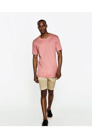 Homem Bermudas - Zara BERMUDAS BIKER - Disponível em mais cores