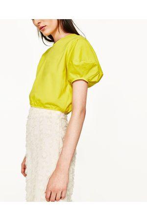 Senhora Camisolas sem capuz - Zara SWEATSHIRT CROPPED - Disponível em mais cores