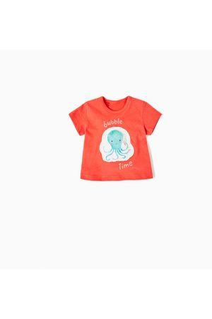 Bebé T-shirts & Manga Curta - Zara T-SHIRT REMENDO POLVO