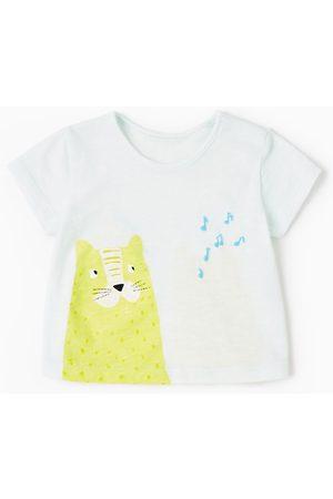 Bebé T-shirts & Manga Curta - Zara T-SHIRT TIGRE