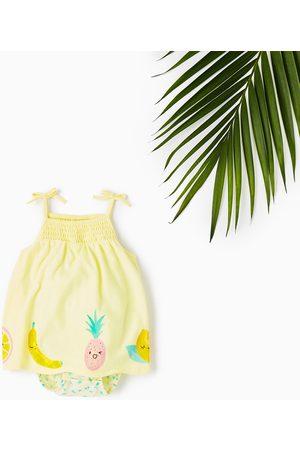 Bebé Vestidos Estampados - Zara FRUIT PRINT DRESS