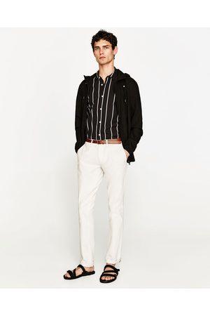 Homem Calças Chino - Zara CALÇAS CHINO - Disponível em mais cores