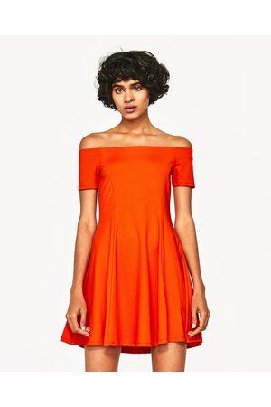 Senhora Vestidos Caicai - Zara VESTIDO DECOTE BANDEAU - Disponível em mais cores