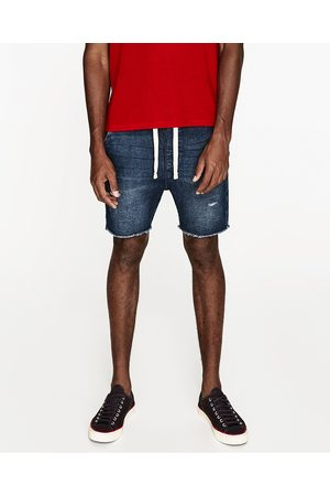 Homem Bermudas - Zara BERMUDAS GANGA FELPA - Disponível em mais cores