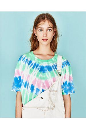Senhora T-shirts & Manga Curta - Zara T-SHIRT TIE-DYE
