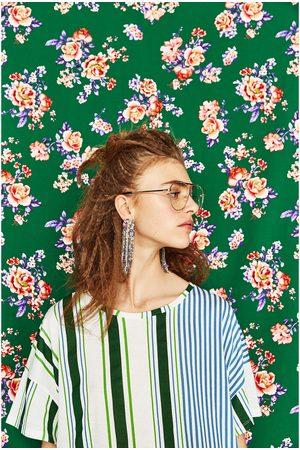 Zara T-SHIRT ÀS RISCAS - Disponível em mais cores