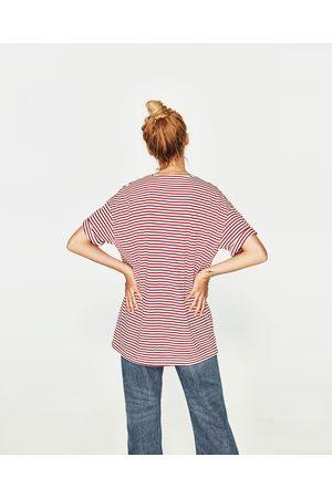Zara T-SHIRT UNGENDERED RISCAS - Disponível em mais cores