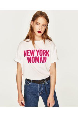Zara T-SHIRT GRÁFICO - Disponível em mais cores