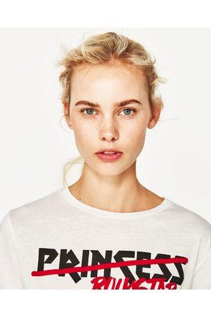 Zara T-SHIRT LAÇADA À FRENTE - Disponível em mais cores