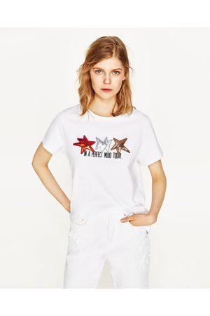Zara T-SHIRT REMENDOS - Disponível em mais cores