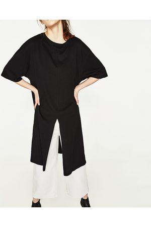 Senhora T-shirts & Manga Curta - Zara T-SHIRT OVERSIZE NÓ - Disponível em mais cores