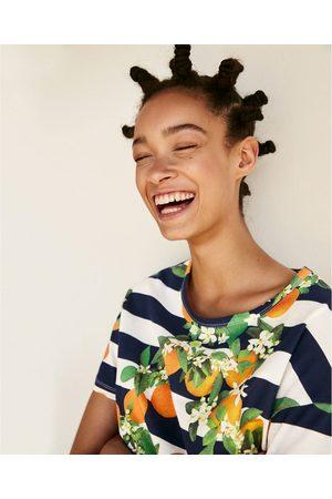 Senhora T-shirts & Manga Curta - Zara T-SHIRT ESTAMPADA - Disponível em mais cores