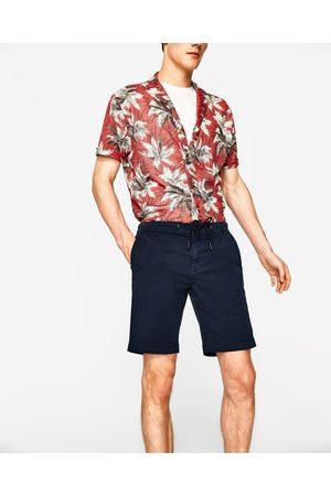 Homem Bermudas - Zara BERMUDAS ESTILO CHINO - Disponível em mais cores