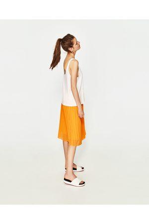 Zara BLUSA C/ALÇAS - Disponível em mais cores