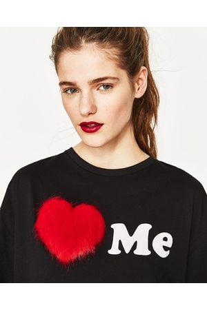 Zara T-SHIRT COM PÊLO - Disponível em mais cores