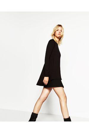 Senhora T-shirts & Manga Curta - Zara T-SHIRT LINHA A - Disponível em mais cores