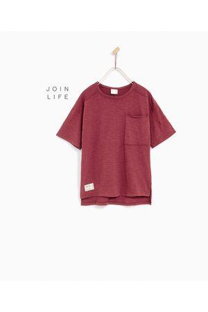 T-shirts & Manga Curta - Zara T-SHIRT BOLSO - Disponível em mais cores