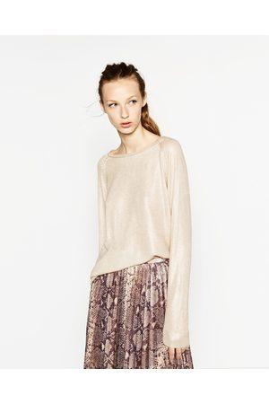 Zara CAMISOLA FOIL - Disponível em mais cores