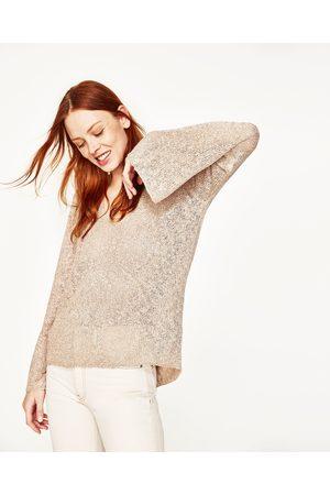 Zara CAMISOLA DECOTE EM V - Disponível em mais cores