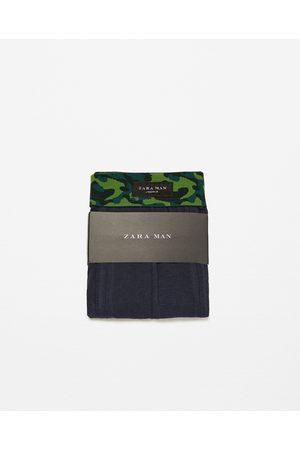 Zara BOXERS CINTURA CAMUFLAGEM - Disponível em mais cores