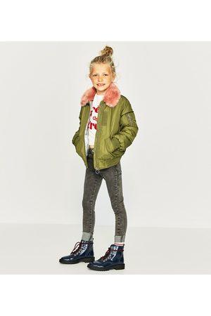 Menina Skinny - Zara CALÇAS DE GANGA SKINNY - Disponível em mais cores