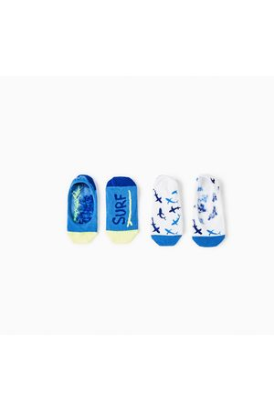 Zara PACK FOOTIES SURF TUBARÃO