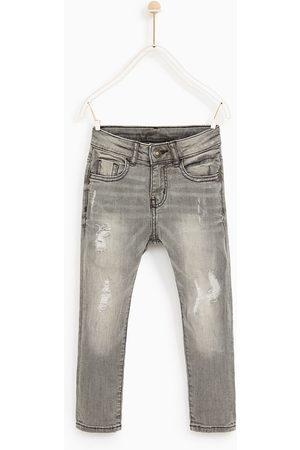 Kit 3 Calça Jeans E Sarja Masculina Premium Colorida Rasgada