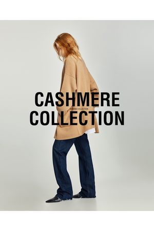 Zara CASACO CAXEMIRA OVERSIZE BOLSOS - Disponível em mais cores