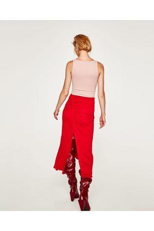 Zara T-SHIRT ALÇA LARGA - Disponível em mais cores