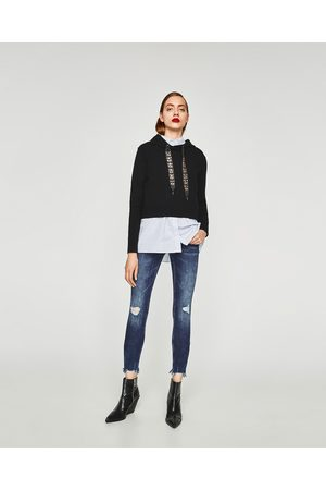 Zara JEANS POWER STRETCH CINTURA MÉDIA