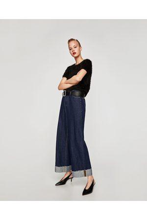 Zara BLUSA EFEITO FAUX FUR - Disponível em mais cores
