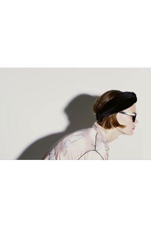 Zara Bandolete turbante veludo