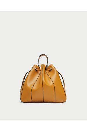 Zara SHOULDER BAG PESPONTOS
