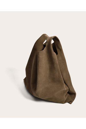 Zara TOTE BAG PELE JOIN LIFE - Disponível em mais cores