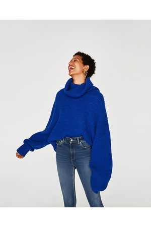 Zara Jeans the high waist bi stretch old blue