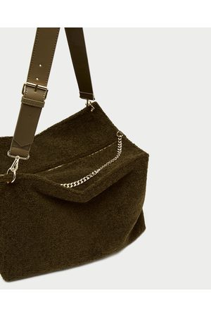Zara SHOULDER BAG GRANDE PELO