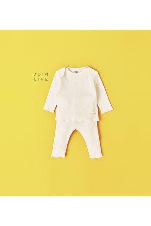 Zara CONJUNTO CANELADO - Disponível em mais cores