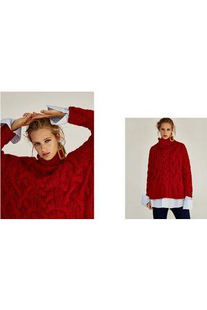 Zara SWEATER MALHA DE CABO OVERSIZE - Disponível em mais cores
