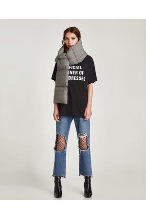 Zara T-SHIRT TEXTO - Disponível em mais cores