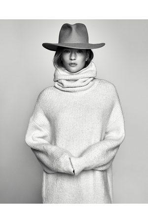 Zara SWEATER OVERSIZE GOLA DOBRADA - Disponível em mais cores