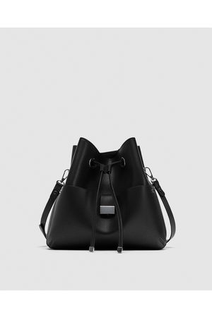 Zara SHOULDER BAG MONOCOLOR - Disponível em mais cores