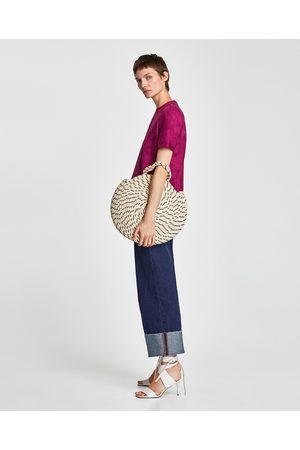 Zara TOP COM EFEITO SUEDE E FECHO DE CORRER - Disponível em mais cores