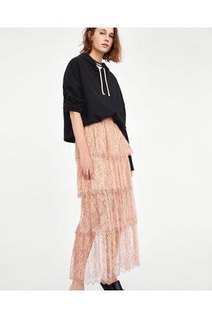 07ea51a3df Zara Saias Compridas de Senhora Online Comprar