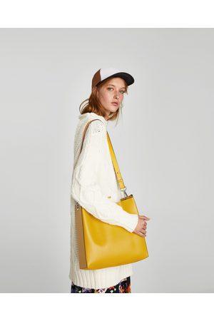 Zara SHOULDER BAG ESTAMPADO REVERSÍVEL - Disponível em mais cores