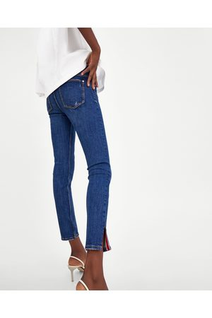 Zara JEANS POWER STRETCH COM ABERTURA